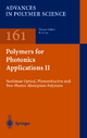 Polymers for Photonics Applications II - Kwang-Sup Lee