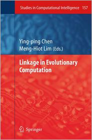 Linkage in Evolutionary Computation - Ying-ping Chen (Editor)