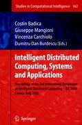 Intelligent Distributed Computing, Systems and Applications
