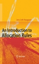 An Introduction to Allocation Rules - Jens Leth Hougaard