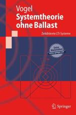 Systemtheorie Ohne Ballast - Peter Vogel (author)