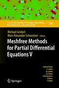 Meshfree Methods for Partial Differential Equations V