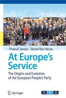 At Europe's Service