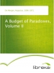 A Budget of Paradoxes, Volume II - Augustus De Morgan