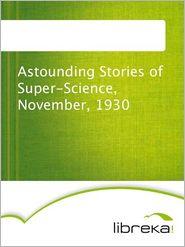 Astounding Stories of Super-Science, November, 1930 - MVB E-Books