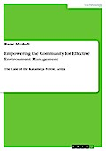 Empowering The Community For Effective Environment Management - Oscar Mmbali