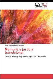 Memoria y justicia transicional