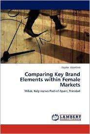 Comparing Key Brand Elements within Female Markets - Dayner Azzellino