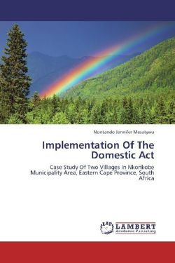 Implementation Of The Domestic Act
