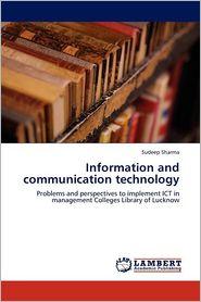 Information and communication technology - Sudeep Sharma