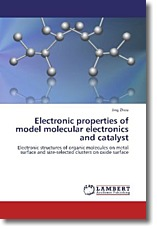 Electronic properties of model molecular electronics and catalyst