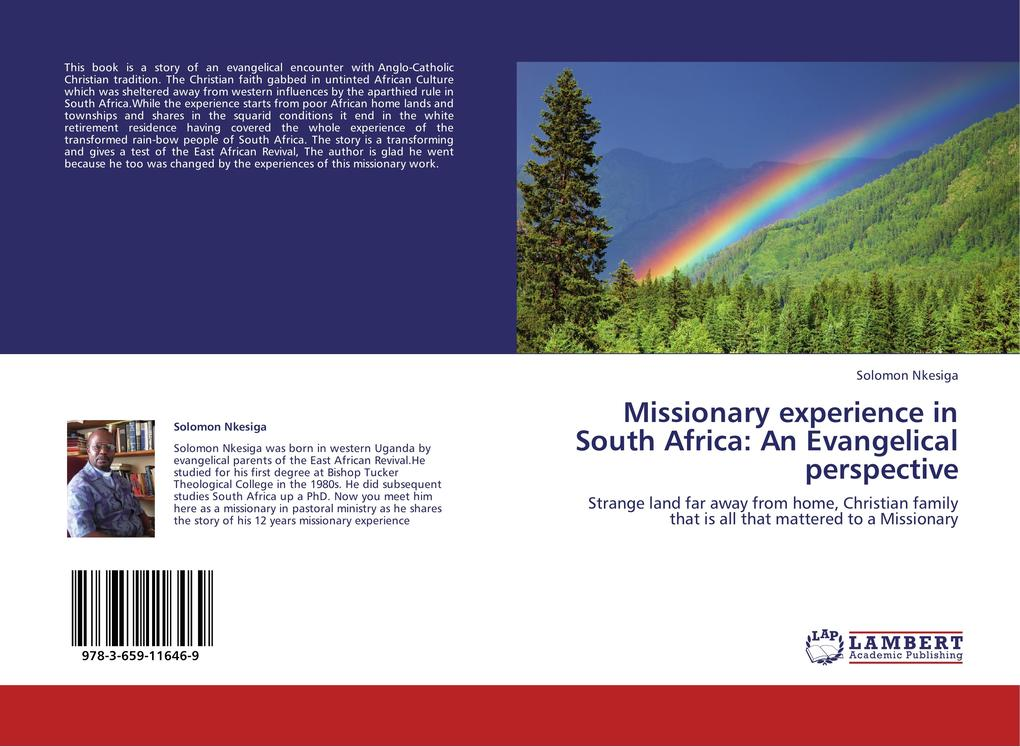 Missionary experience in South Africa: An Evangelical perspective als Buch von Solomon Nkesiga - LAP Lambert Academic Publishing