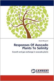 Responses Of Avocado Plants To Salinity - David Musyimi