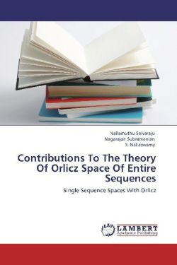 Contributions To The Theory Of Orlicz Space Of Entire Sequences