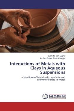 Interactions of Metals with Clays in Aqueous Suspensions