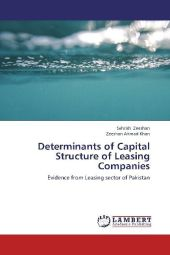 Determinants of Capital Structure of Leasing Companies - Sehrish Zeeshan