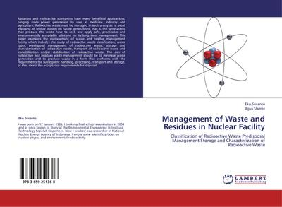 Management of Waste and Residues in Nuclear Facility - Eko Susanto