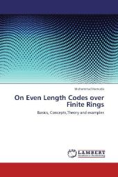 On Even Length Codes over Finite Rings - Mohammad Hamoda