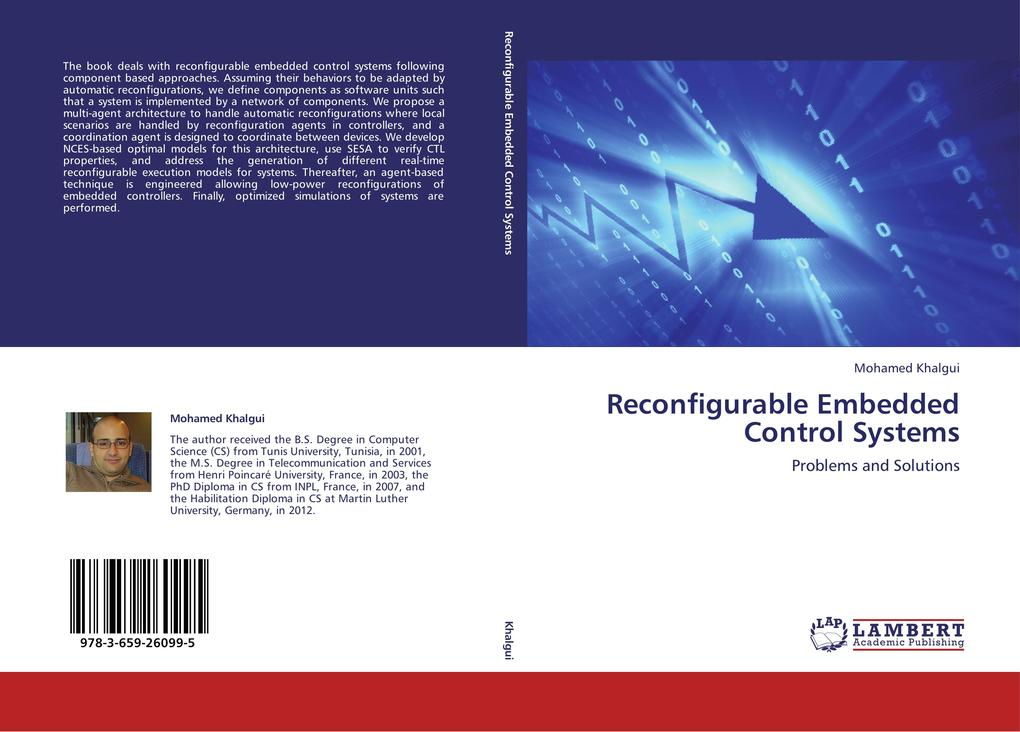 Reconfigurable Embedded Control Systems als Buch von Mohamed Khalgui - LAP Lambert Academic Publishing