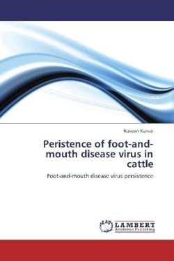 Peristence of foot-and-mouth disease virus in cattle