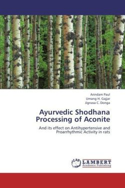 Ayurvedic Shodhana Processing of Aconite