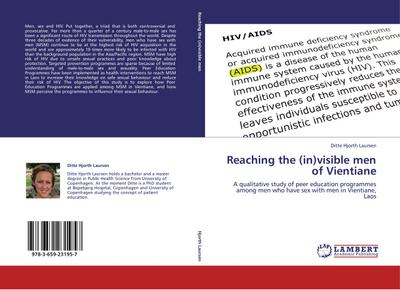 Reaching the (in)visible men of Vientiane - Ditte Hjorth Laursen