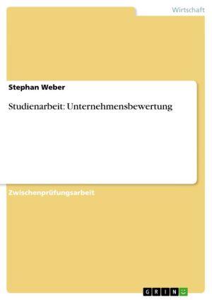 Studienarbeit: Unternehmensbewertung
