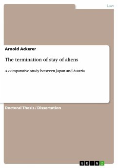 The termination of stay of aliens - Ackerer, Arnold