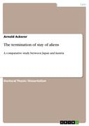 Ackerer, Arnold: The termination of stay of aliens
