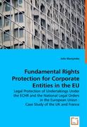 Fundamental Rights Protection for Corporate Entities in the EU