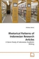 Rhetorical Patterns of Indonesian Research Articles - Zifirdaus Adnan