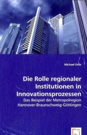 Die Rolle regionaler Institutionen in Innovationsprozessen - Michael Ortiz