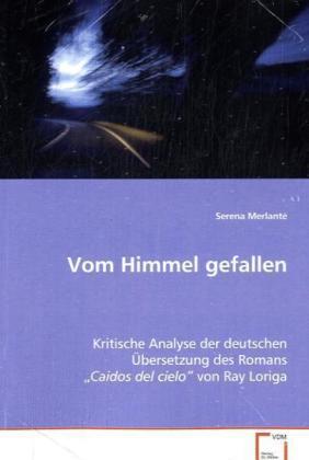 Vom Himmel gefallen - Kritische Analyse der deutschen Übersetzung des Romans