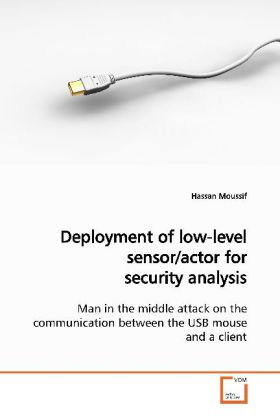 Deployment of low-level sensor/actor for security analysis - Man in the middle attack on the communication between the USB mouse and a client - Moussif, Hassan