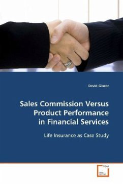 Sales Commission Versus Product Performance in Financial Services - Glazer, David