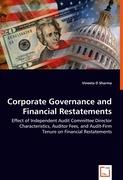 Corporate Governance and Financial Restatements