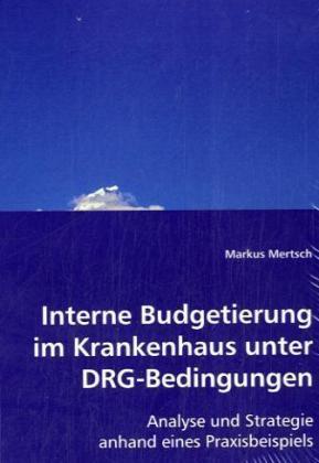 Interne Budgetierung im Krankenhaus unter DRG-Bedingungen - Analyse und Strategie anhand eines Praxisbeispiels