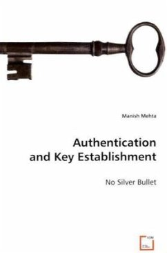 Authentication and Key Establishment - Mehta, Manish