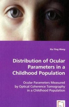 Distribution of Ocular Parameters in a Childhood Population - Wang, Xiu Ying