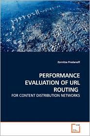 Performance Evaluation Of Url Routing - Zornitza Prodanoff