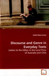 Discourse and Genre in Everyday Texts - Isolda Rojas-Lizana
