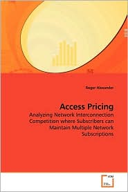 Access Pricing - Roger Alexander