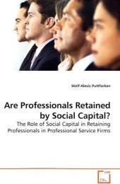 Are Professionals Retained by Social Capital? - Wolf-Alexis Puttfarken