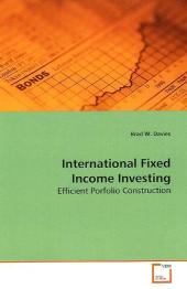 International Fixed Income Investing - Brad W. Davies