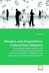Mergers and Acquisitions: Cultural Due Diligence - Nils Grave