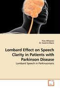 Lombard Effect on Speech Clarity in Patients with Parkinson Disease