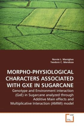 MORPHO-PHYSIOLOGICAL CHARACTERS ASSOCIATED WITH GXE IN SUGARCANE - Genotype and Environment interaction (GxE) in Sugarcane analyzed through Additive Main effects and Multiplicative Interaction (AMMI) model - Manigbas, Norvie L. / Mendoza, Teodoro C.