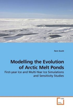 Modelling the Evolution of Arctic Melt Ponds - First-year Ice and Multi-Year Ice Simulations and Sensitivity Studies - Scott, Fern