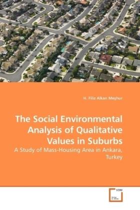 The Social Environmental Analysis of Qualitative Values in Suburbs - A Study of Mass-Housing Area in Ankara, Turkey - Alkan Me hur, H. Filiz