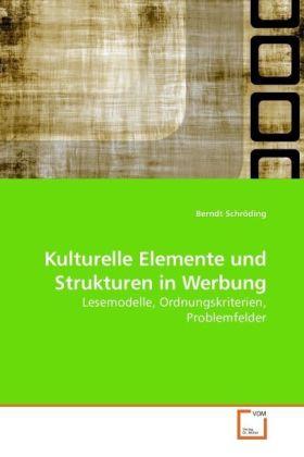 Kulturelle Elemente und Strukturen in Werbung - Lesemodelle, Ordnungskriterien, Problemfelder
